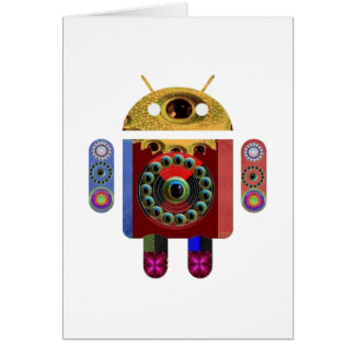 ANDROID Robot Card