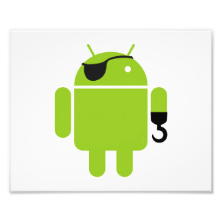 Android Robot Mighty Pirate Photograph