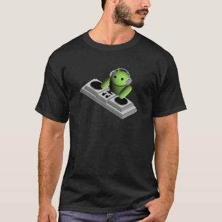 Android Robot Playing DJ T-Shirt