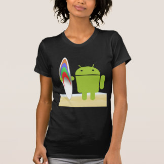 Android Surfer T Shirts