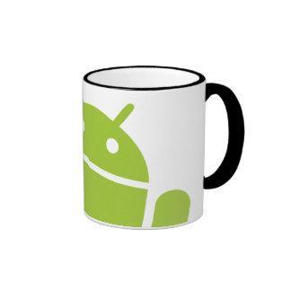Android Waving Ringer Mug