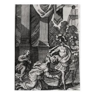 Andromache at the Feet of Pyrrhus Postcard