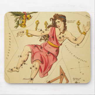 Andromeda Constellation Mouse Pad