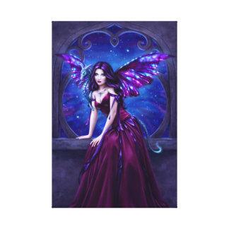 Andromeda Dragon Art Wrapped Canvas