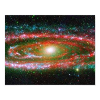 Andromeda Galaxy 11 Cm X 14 Cm Invitation Card
