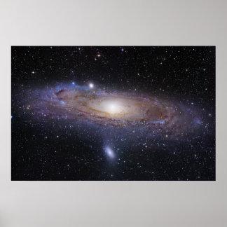 Andromeda Galaxy Poster