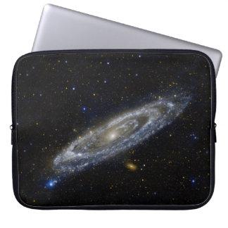 Andromeda Galaxy Starry Sky Laptop Sleeve