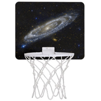 Andromeda Galaxy Starry Sky Mini Basketball Hoop