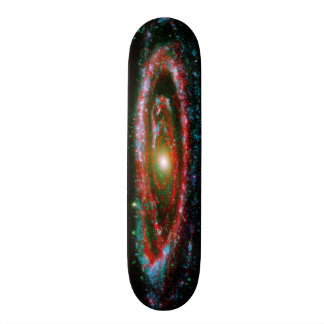 Andromeda Gallaxy Skate Board