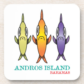 Andros Island 3-Fishes Coaster
