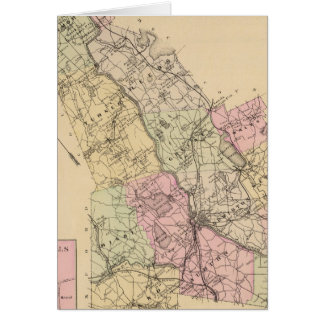 Androscoggin County, Maine Map Card