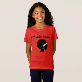 #AndSisterhood shirt for young girls