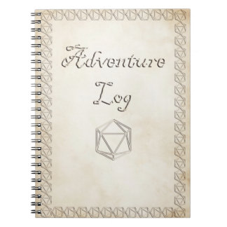 Andventure Log Notebook