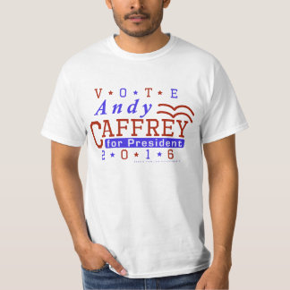 Andy Caffrey President 2016 Election Democrat T-Shirt