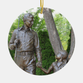 Andy Griffith Christmas Ornament