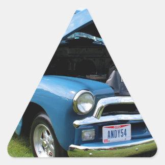 Andy I Triangle Sticker