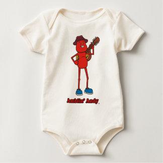 Andy Infant Organic Baby Bodysuit