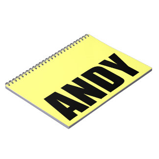 Andy Notebooks