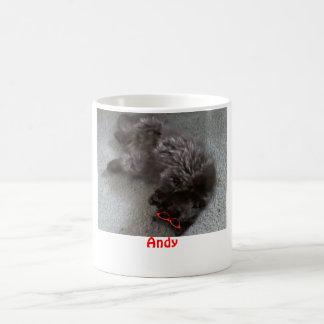 Andy the Persian cat Coffee Mug