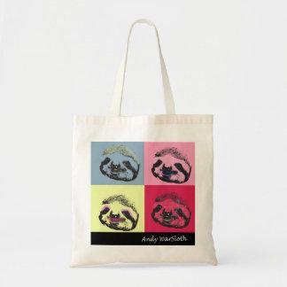 Andy WarSloth Tote Bag