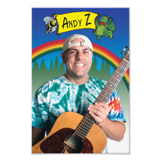 Andy Z 8X12 photo print