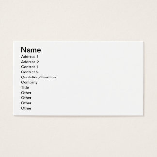 'Anemone' design (textile) Business Card