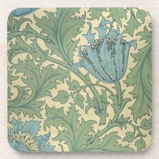 'Anemone' design (textile) Coasters