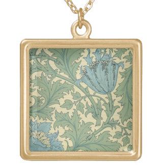 'Anemone' design (textile) Custom Jewelry