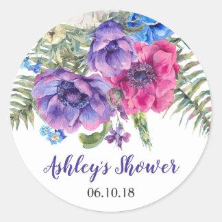 Anemone Flower Floral Bridal Shower