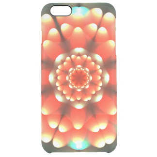 Anemone Mandala Clear iPhone 6 Plus Case