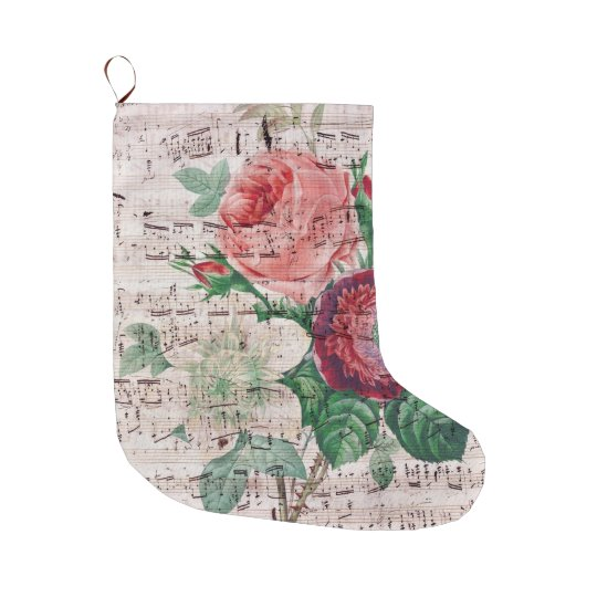 Anemone Music Large Christmas Stocking