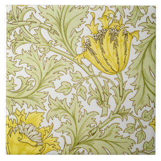 Anemone tapestry design by William Morris Tile