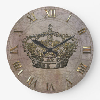 Anémoneathe  Crown Large Clock