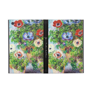 Anemones in Pot Claude Monet flower paint Cover For iPad Mini