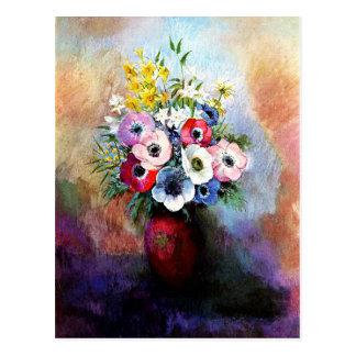 Anemones - Odilon Redon Postcard