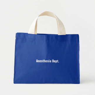Anesthesia Dept Mini Tote Bag