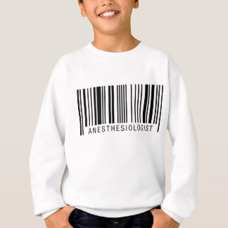 Anesthesiologist Barcode Sweatshirt