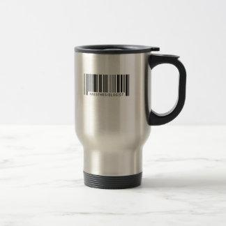 Anesthesiologist Barcode Travel Mug