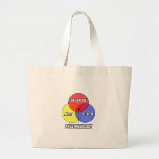 Anesthesiology .. Science Art Luck Large Tote Bag