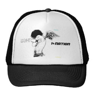ang, 1+NATION, LIGHT Trucker Hat