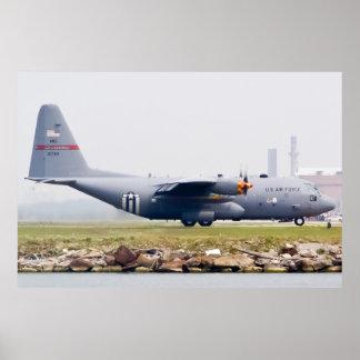 ANG 90-1794 C-130H Hercules Taxi Poster