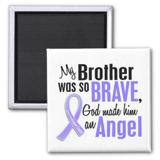 Angel 1 Brother Esophageal Cancer Square Magnet