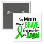 Angel 1 Non-Hodgkins Lymphoma Mum Buttons
