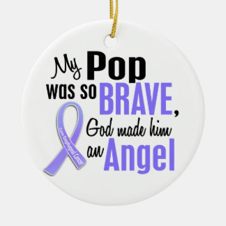 Angel 1 Pop Esophageal Cancer Ceramic Ornament