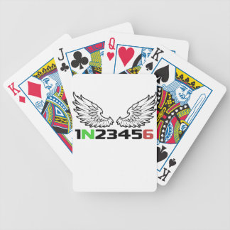 angel 1N23456 Bicycle Playing Cards
