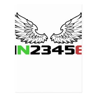angel 1N23456 Postcard