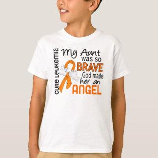 Angel 2 Aunt Leukemia T-Shirt