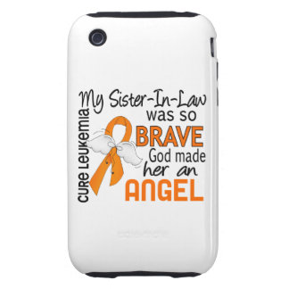 Angel 2 Sister-In-Law Leukemia Tough iPhone 3 Case