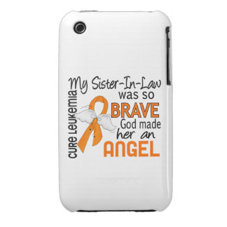 Angel 2 Sister-In-Law Leukemia iPhone 3 Case