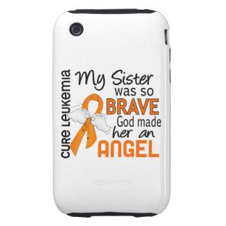 Angel 2 Sister Leukemia iPhone 3 Tough Cover